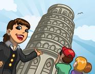 Announce leaningtower
