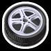 Greasemonkey tire