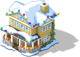 Colonial Chalet snow