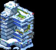 Glass Condos snow