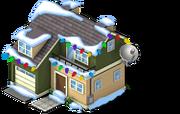 TV Terrace snow