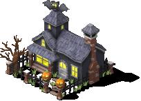 Halloween Townhouse-SW