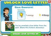 Unlock Love Letter Complete
