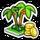 Collect jungle habitat icon