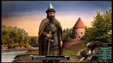 The Grand Duchy of Lithuania - Gediminas War