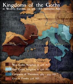 Visigoths Map Mod