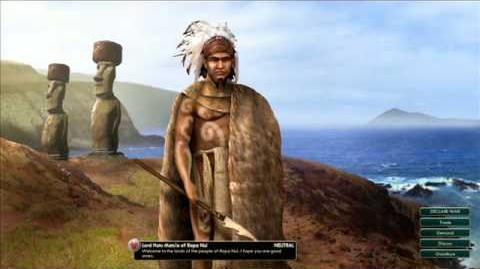 Rapa Nui - Hotu Matu´a Peace