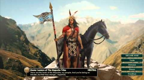 The Mapuche Tribe - Lautaro War