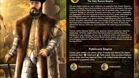 Holy Roman Empire - Charles V Peace
