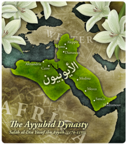 Ayyubids Map