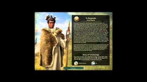 Maori - Te Rauparaha War