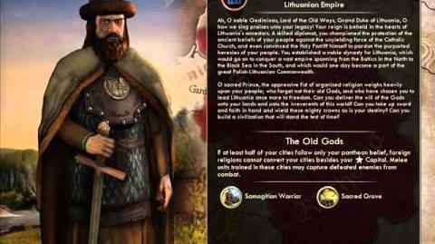The Grand Duchy of Lithuania - Gediminas Peace
