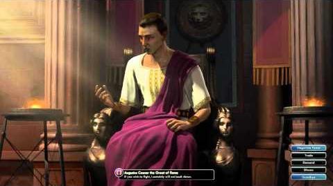 Civilization V OST - Augustus Caesar War Theme - Ancient Roman Melody Fragments