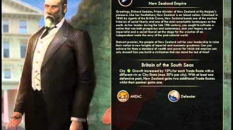 New Zealand - Seddon War