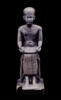 Bronze statuette of Imhotep