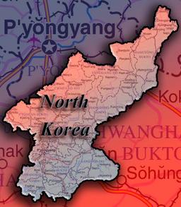 MapNorthKorea