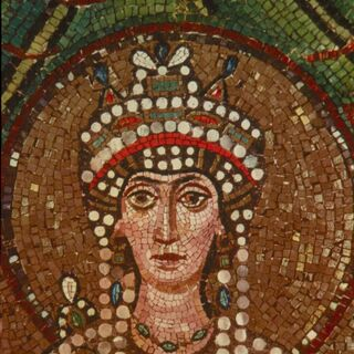 Mosaic of Theodora from the Basilica of San Vitale