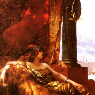 The Empress Theodora at the Colosseum, by Jean-Joseph Benjamin-Constant
