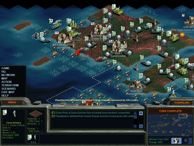 File:Weakest infantry unit takes out a pile of mind worms at once (SMAC).png