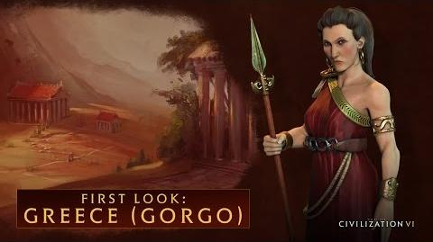 CIVILIZATION VI - First Look Greece (Gorgo) - International Version (With Subtitles)