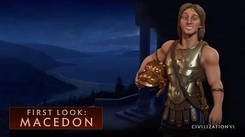 CIVILIZATION VI – First Look- Macedon
