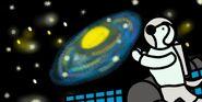 Cj in space