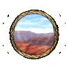 Item canyon background