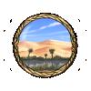 Item sandy oasis background