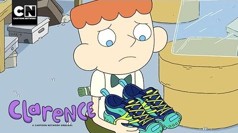 New Shoes Clarence Cartoon Network