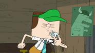 Jeff blows whistle