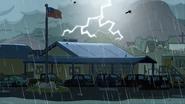 Thunderbolt and lightning is very, very frightening