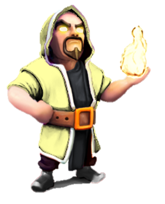 Image - Wizard-lvl100.png | Clash of Clans Wiki | Fandom ...  Clash