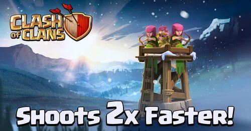 Sneak Peek 3 archer tower update