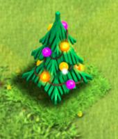 نتیجه تصویری برای christmas tree 2012 clash of clans