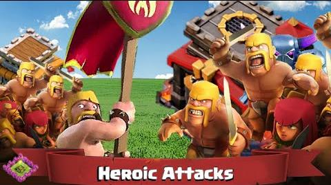 "Most Heroic Attacks Clash of Clans ""Town Hall 8"" Two Starring ""Town Hall 10"""