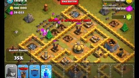 Clash of Clans Level 37 - Triple A