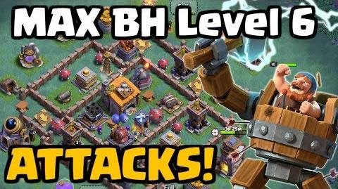 Builder Hall Level 6 Attacks! Clash of Clans Night Witch Gameplay! CoC Update June 2017
