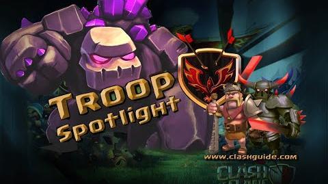 Clash of Clans - Troop Spotlight - The Golem!