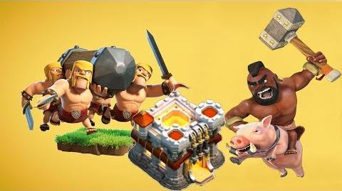 Clash of Clans TH11 100% 3 star 💥 Hog Rider Attack Strategy!!! 2