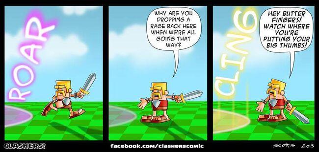 Clashers Comic 37