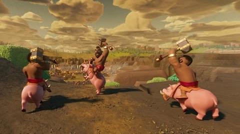 Clash of Clans Hog Rider 360°