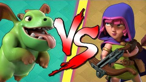 BABY DRAGONS vs SNEAKY ARCHERS!! Who Wins the CoC Battle? Clash of Clans Builder Base