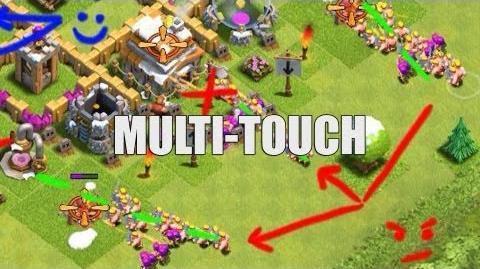 Clash of Clans - Strategy Part 13 - Multi-Touch