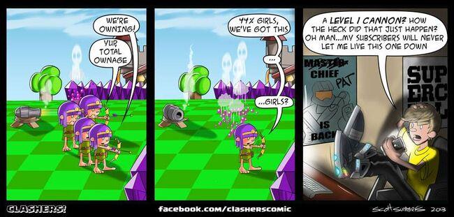 Clashers Comic 17