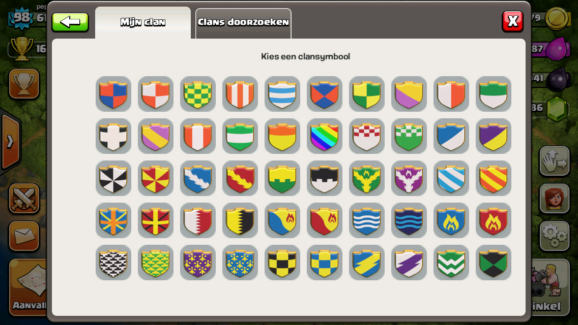 Image - Clan symbols Pepertje25.png   Clash of Clans Wiki ... Clash Of Clans Clan Symbols
