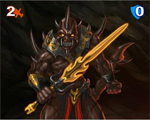 352 Infernal Warrior mini
