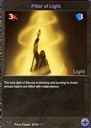 208 Pillar of Light