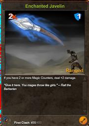 35 Enchanted Javelin