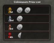 Colosseum Prizes