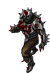 Splattered spike bearer